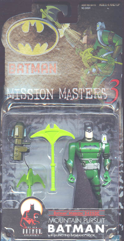 Mountain Pursuit Batman (Mission Masters 3)