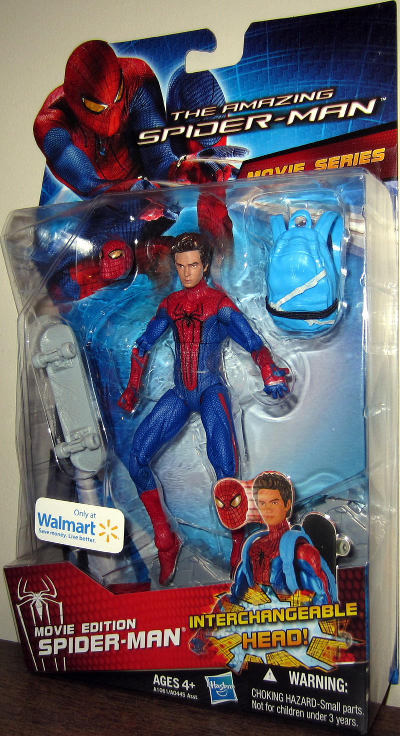 Toys For Gentleman : Movie edition amazing spider man action figure walmart