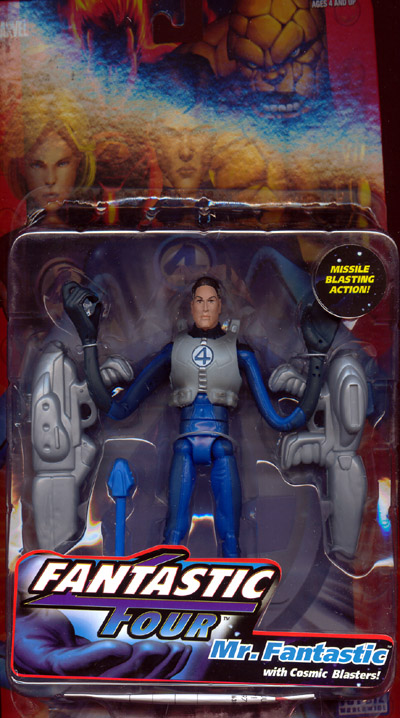 Mr. Fantastic (with cosmic blasters)