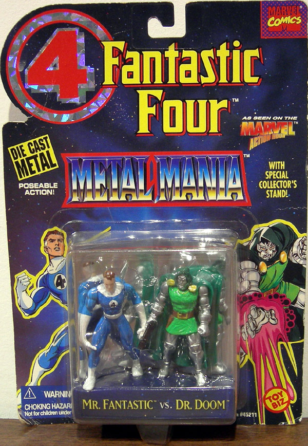 Mr. Fantastic vs. Dr. Doom (Metal Mania)