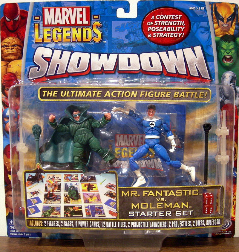 Mr. Fantastic vs. Moleman (Marvel Legends Showdown) variant