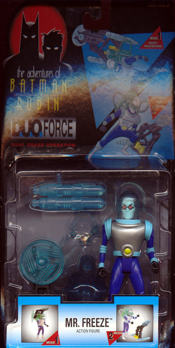 Mr. Freeze (the adventures of Batman and Robin, DuoForce)