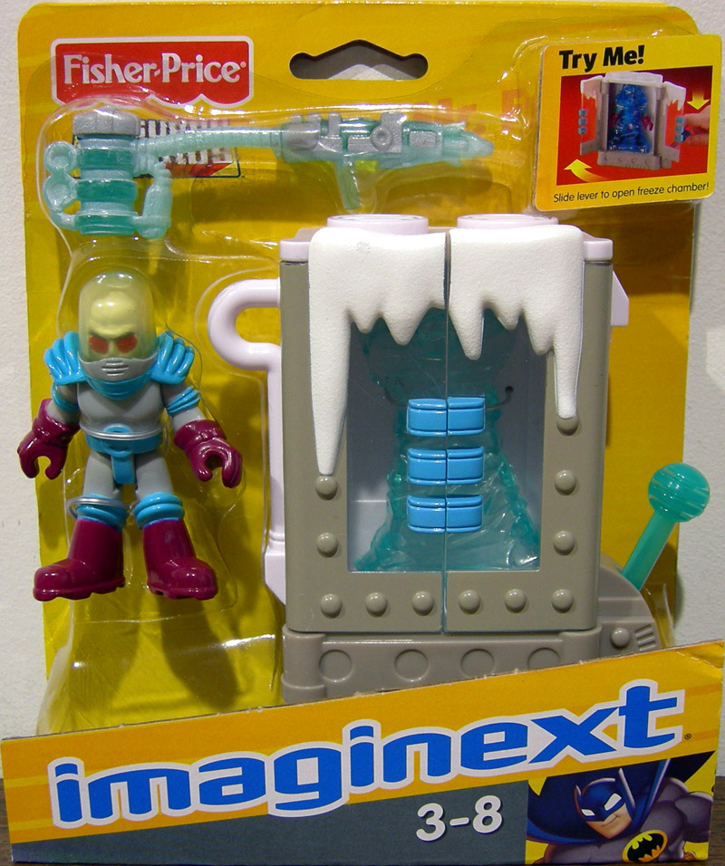 Mr Freeze Action Figure with Freeze Chamber Imaginext