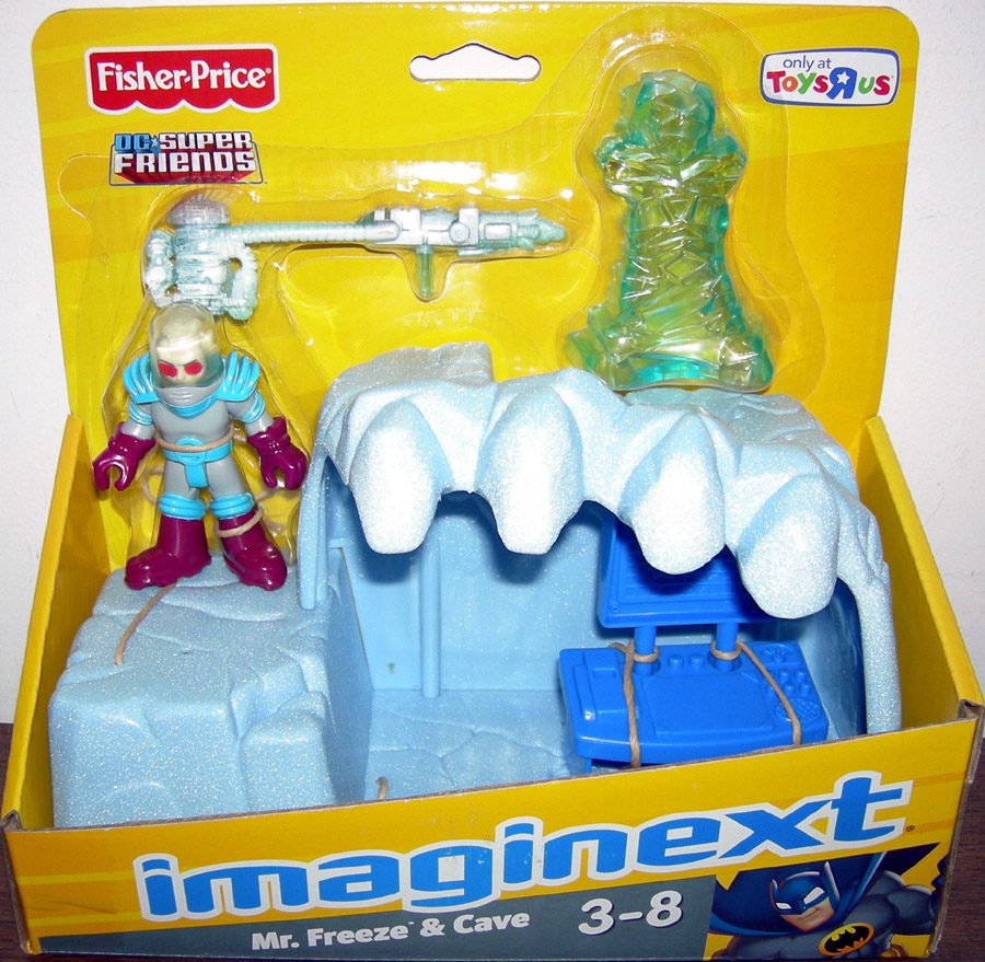 Mr. Freeze & Cave (Imaginext, Toys R Us Exclusive)