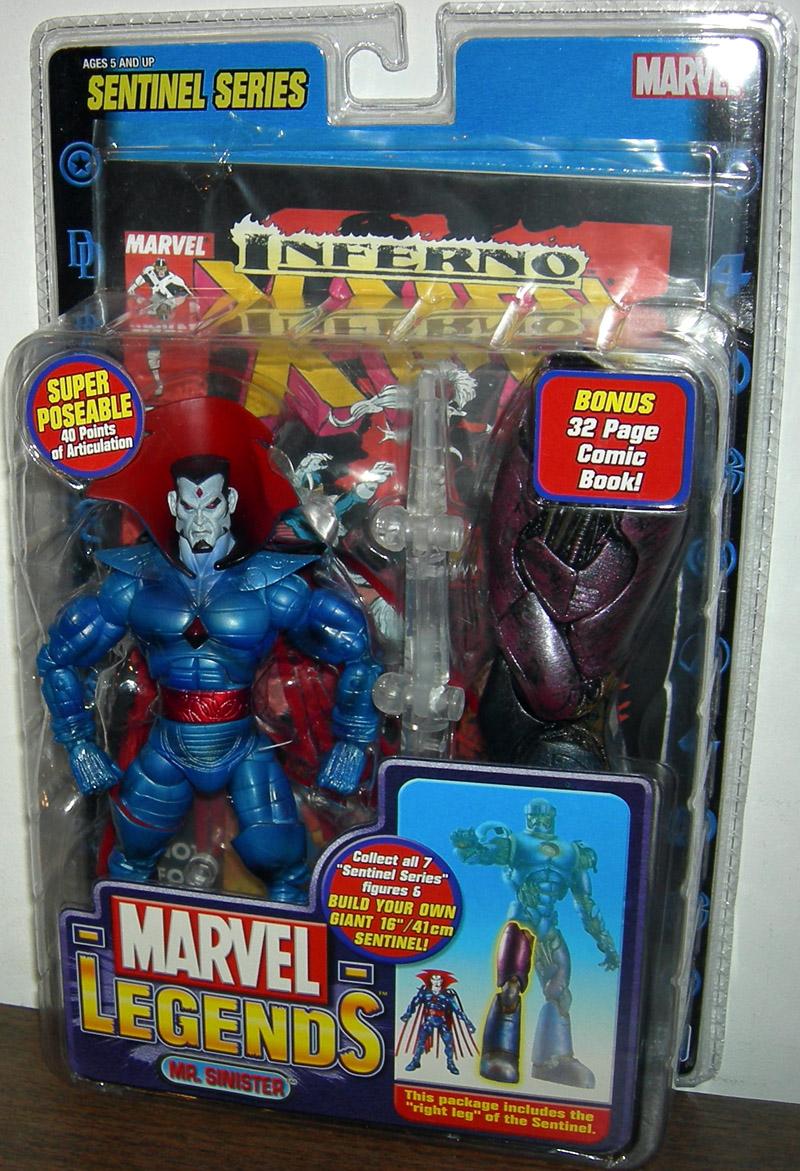 Mr Sinister Marvel Legends Sentinel Series Action Figure