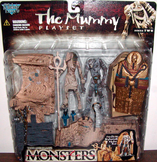 The Mummy playset (series 2)
