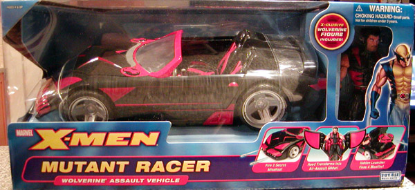 X-Men Mutant Racer Wolverine Assault Vehicle