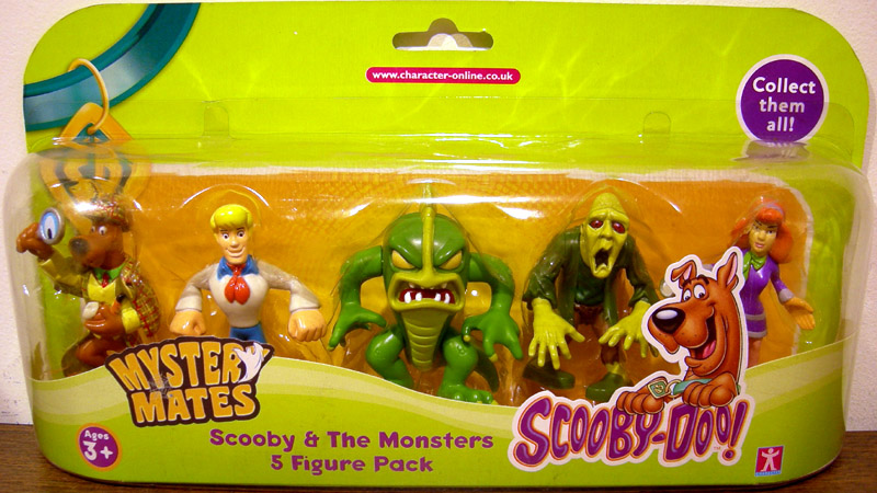 Scooby-Doo Mystery Mates 5-Pack (series 1)