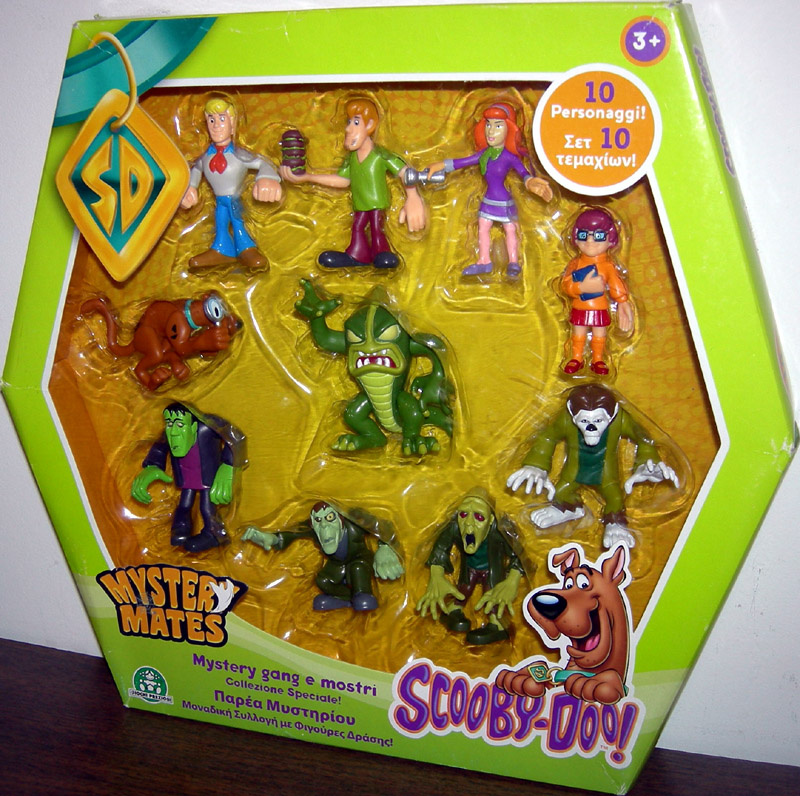 Scooby-Doo Mystery Mates 10-Pack