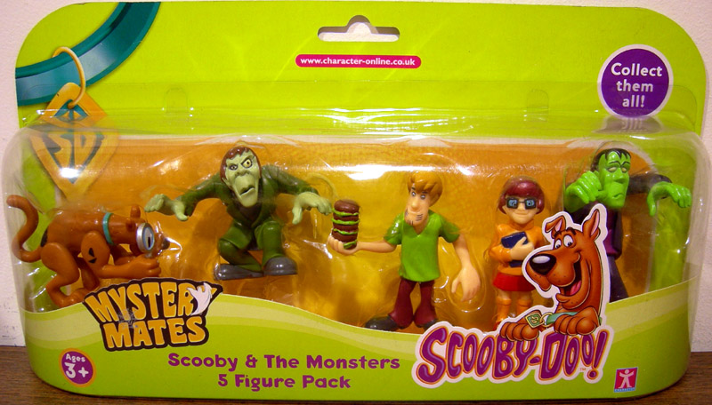 Scooby-Doo Mystery Mates 5-Pack (series 2)