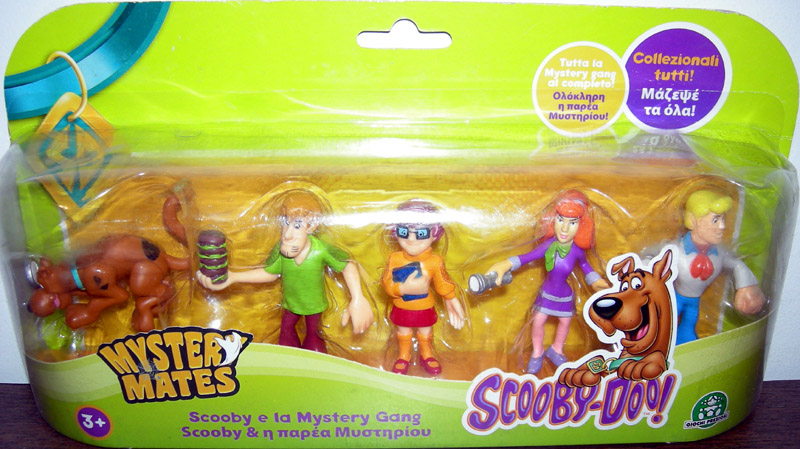 Scooby & The Mystery Gang 5-Pack (Mystery Mates)