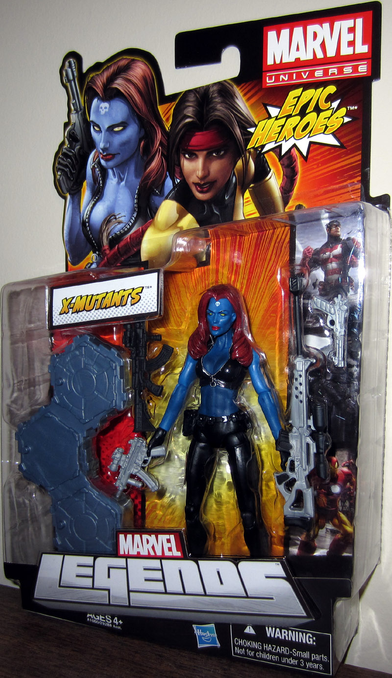 Mystique (Marvel Legends, Epic Heroes series)