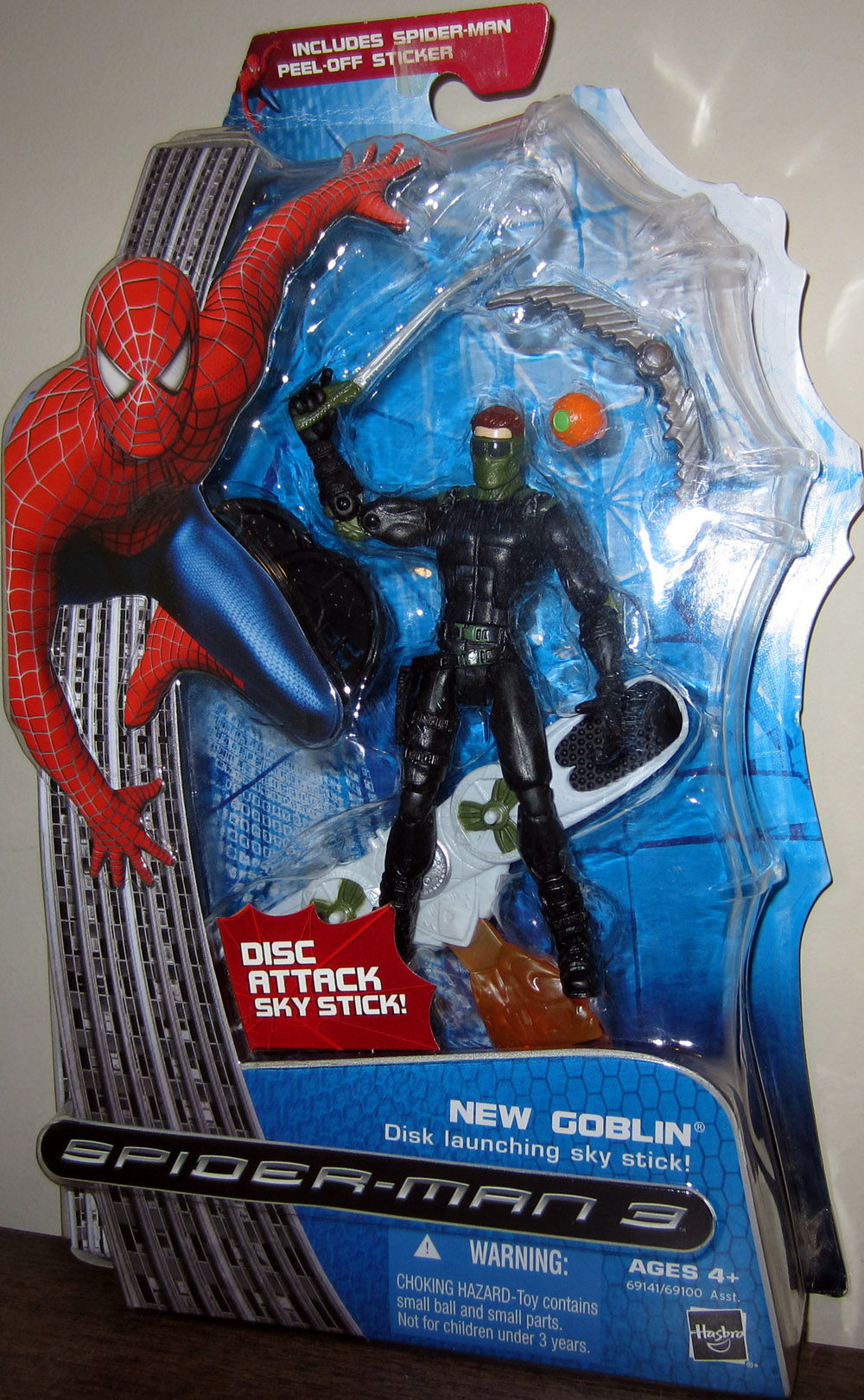 New Goblin (Disk launching sky stick, Spider-Man 3)