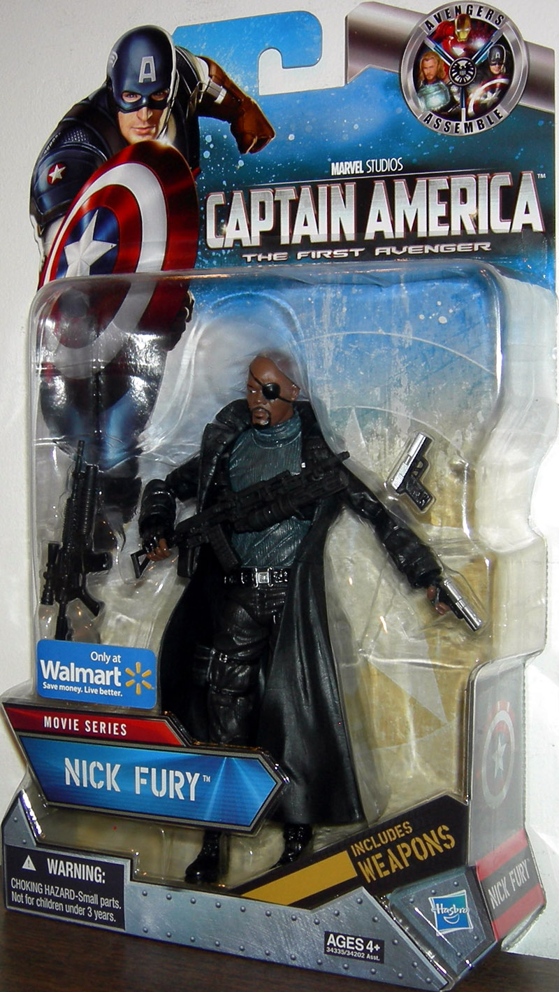 Nick Fury (Movie Series, Walmart Exclusive)