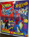 Nightcrawler vs. Web Racer Spider-Man, Wal-Mart Exclusive (Animated)