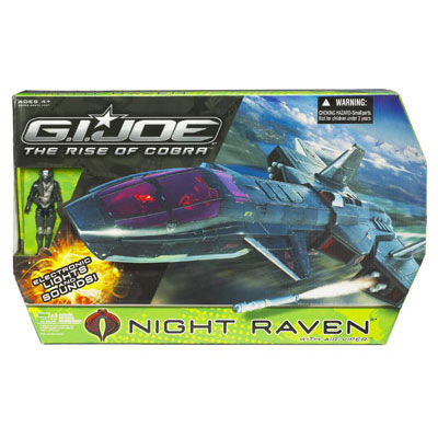 Night Raven with Air-Viper v1 (The Rise of Cobra)
