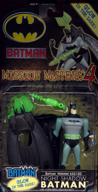 Night Shadow Batman (Mission Masters 4)