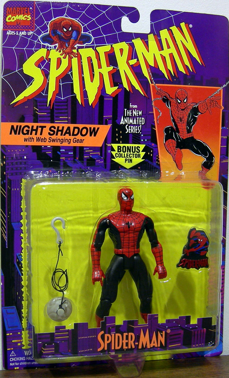 Night Shadow Spider-Man (Spider-Man Animated)