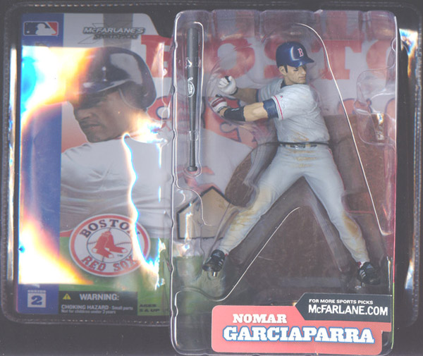 Nomar Garciaparra (gray uniform)
