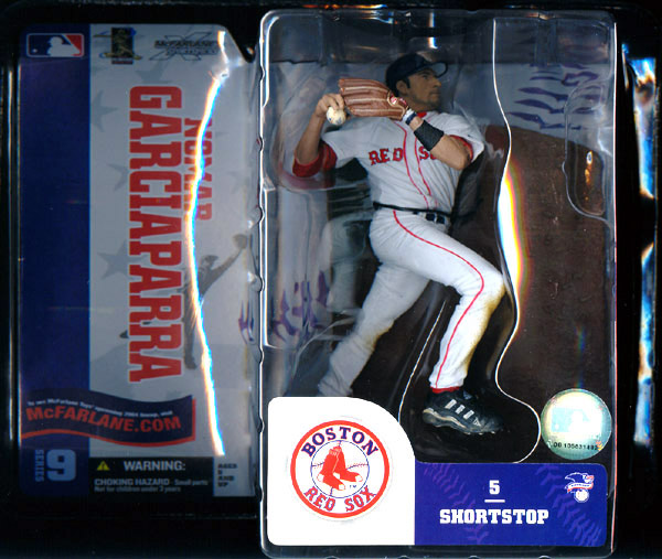 Nomar Garciaparra (series 9, white uniform)