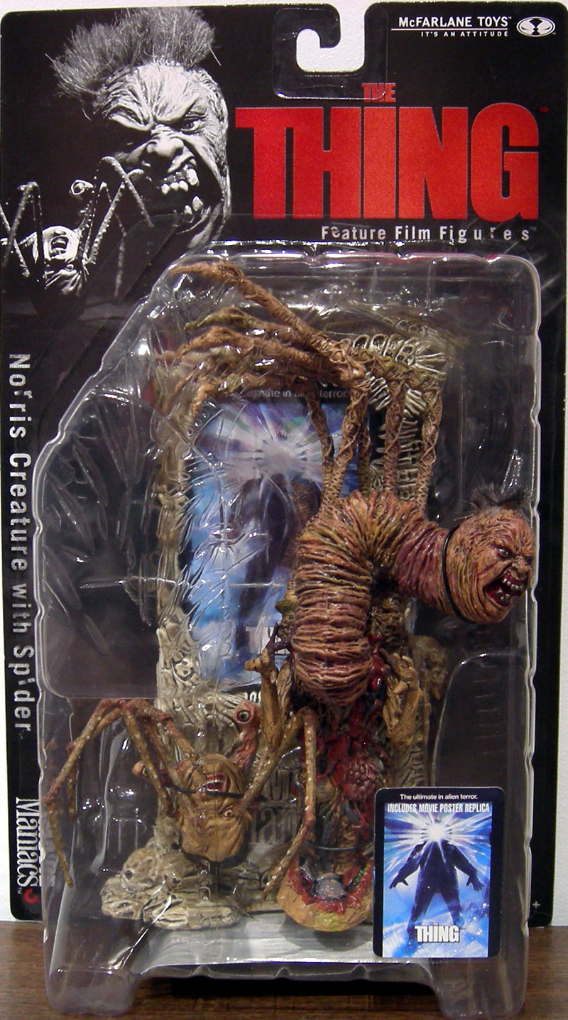Norris Creature Action Figure Spider Thing Movie Maniacs
