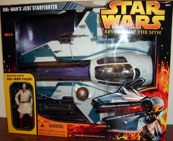 Obi-Wan's Jedi Starfighter (Revenge of the Sith, with figure)