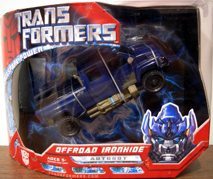 Offroad Ironhide (Movie Voyager)