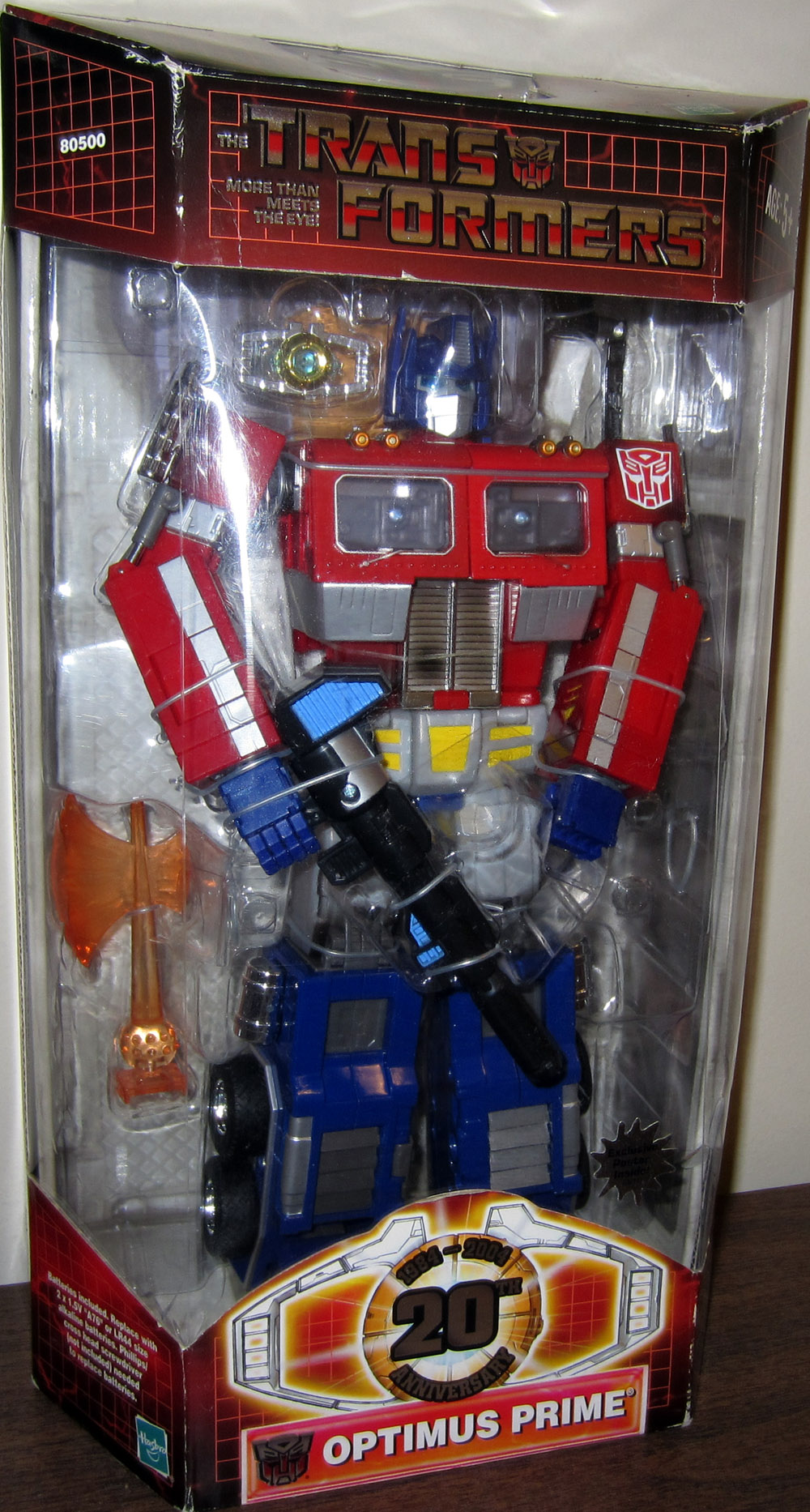 Optimus Prime (20th Anniversary)