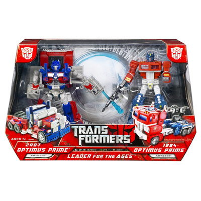Optimus Prime: Leader for the Ages 2-pack