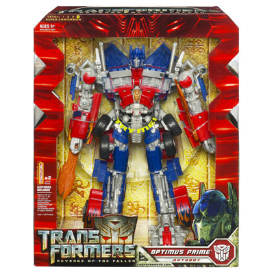 Optimus Prime (Revenge of The Fallen, Leader Class)