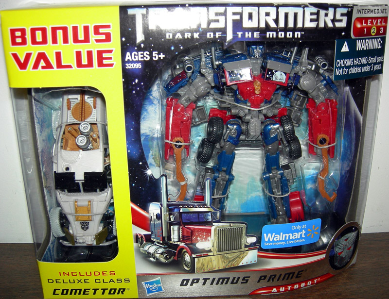 Optimus Prime with bonus Comettor (Walmart Exclusive)
