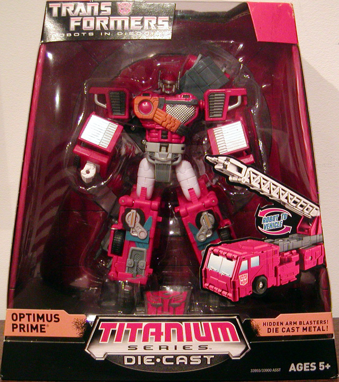 Optimus Prime 2 Titanium Series Die Cast