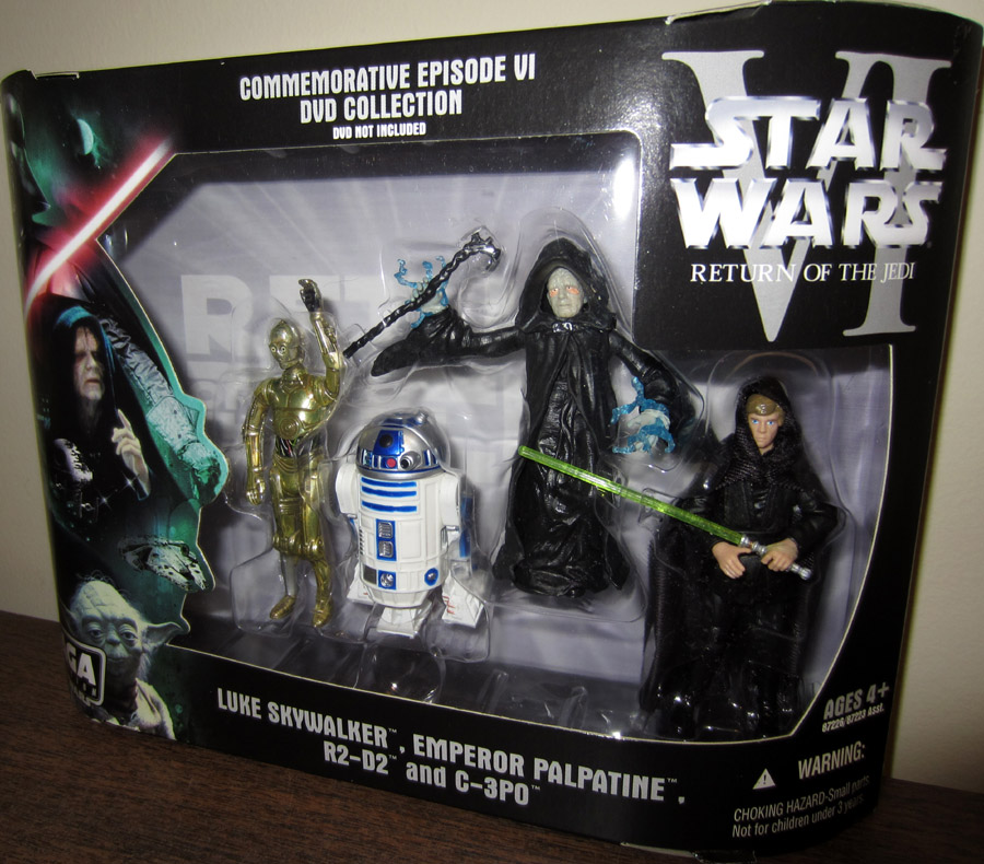 Commemorative Episode VI Original Trilogy 4-Pack: Return of the Jedi