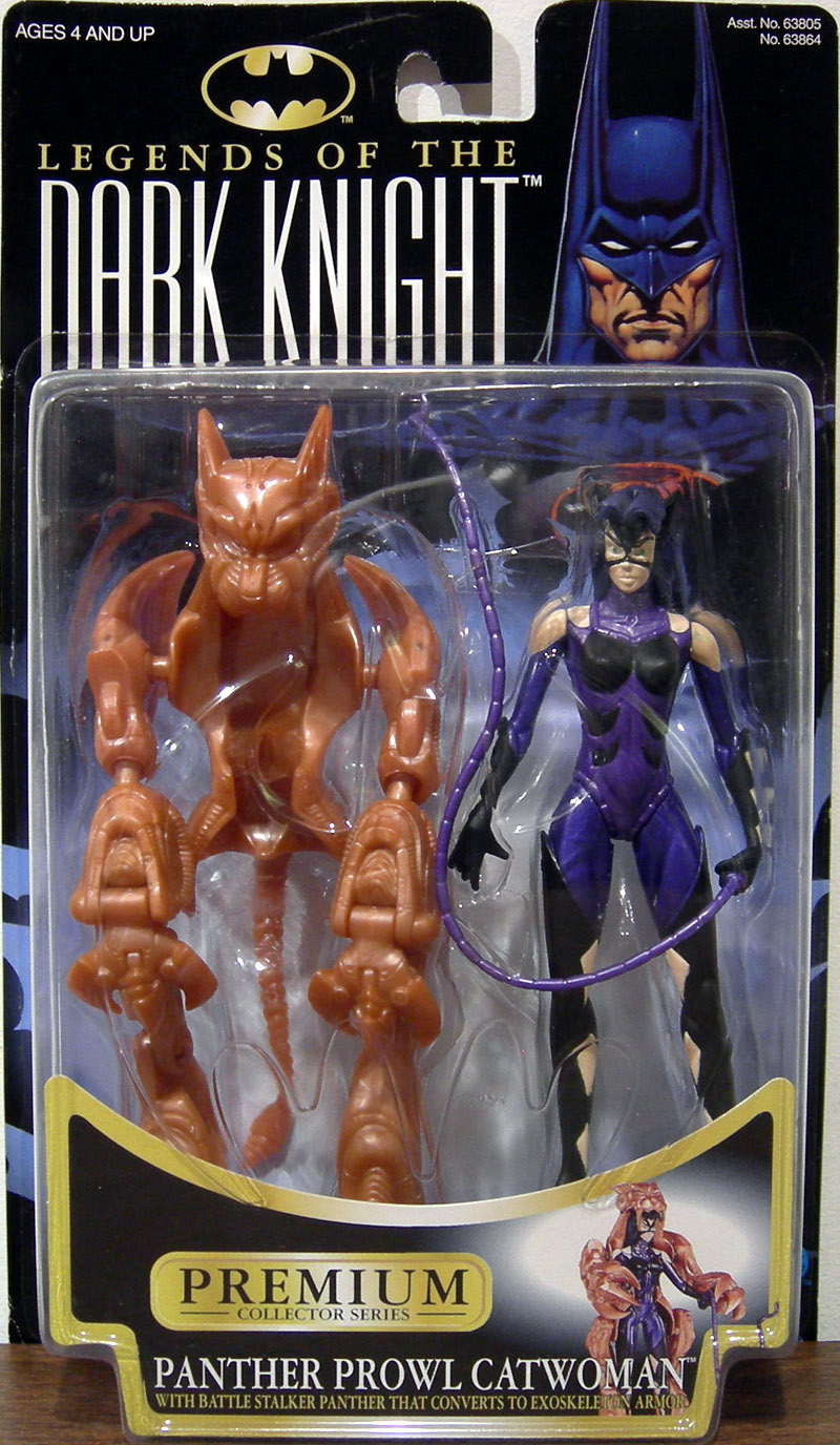Panther Prowl Catwoman (Legends Of The Dark Knight)