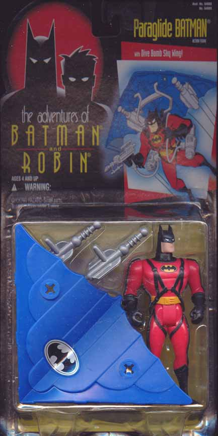 Paraglide Batman (the adventures of Batman and Robin)