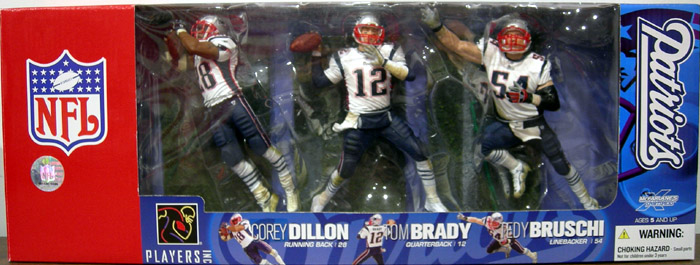 New England Patriots 3-Pack