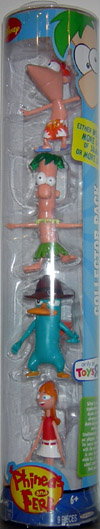 Phineas, Ferb, Agent P & Candace 4-Pack
