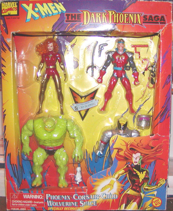 The Dark Phoenix Saga 4-Pack