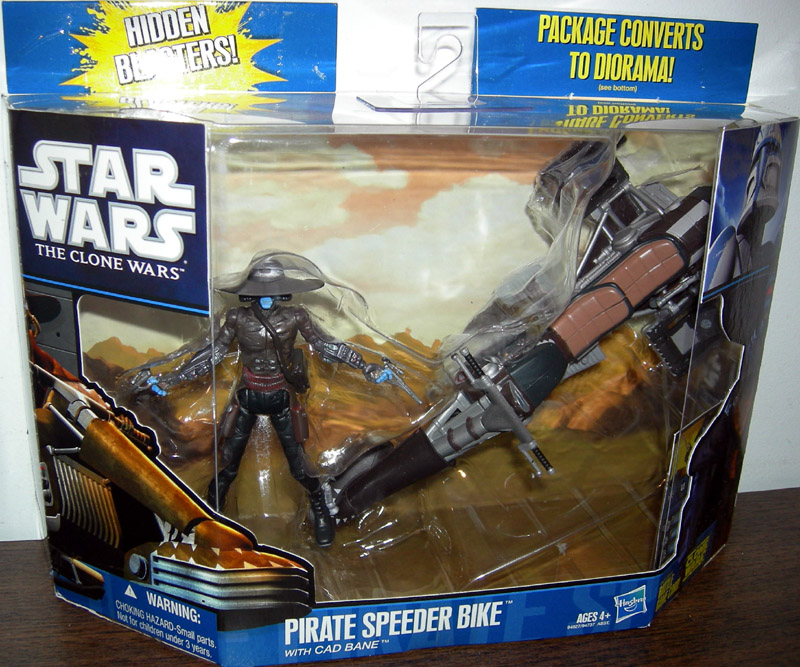 Pirate Speeder Bike (with Cad Bane)