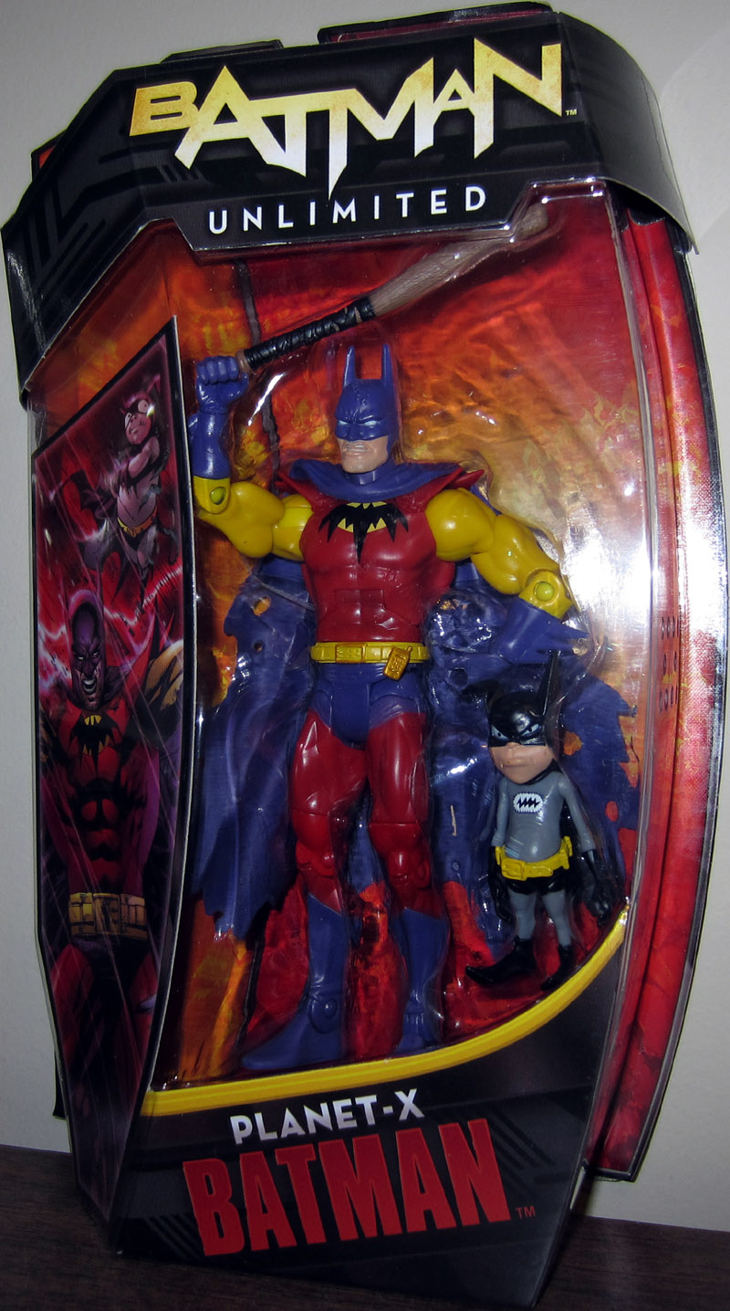 Planet-X Batman with Bat-Mite (Batman Unlimited)