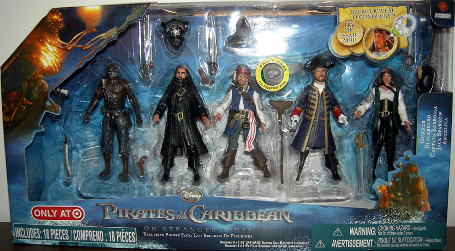 Pirates of the Caribbean On Stranger Tides 5-Pack (Target Exclusive)