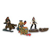Pirates of the Caribbean Deluxe Figure 3Pack Sparrow Turner Davy Jones