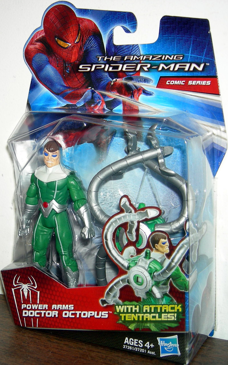 power arms doctor octopus amazing spiderman movie