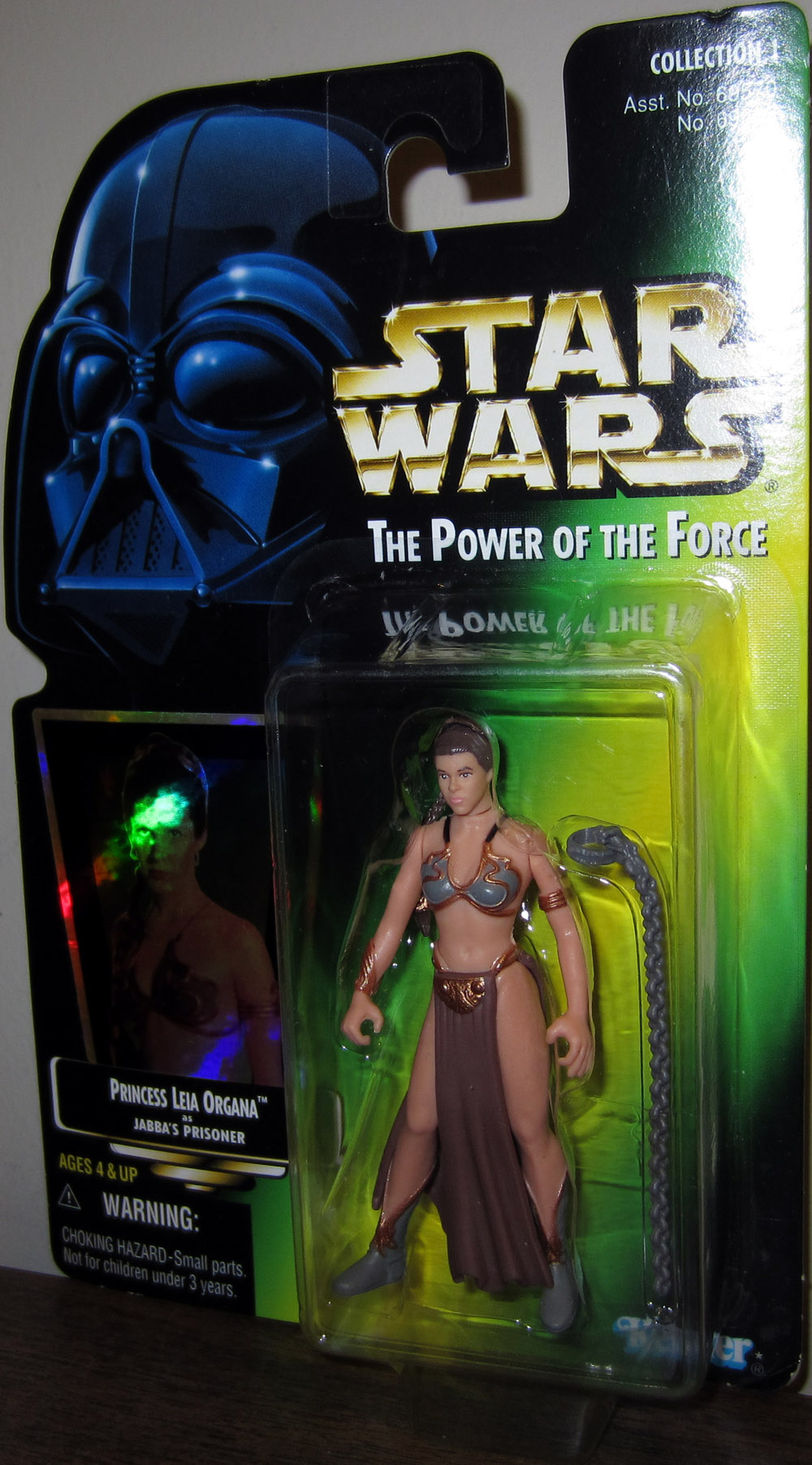 Princess Leia Organa as Jabba's Prisoner (green card)