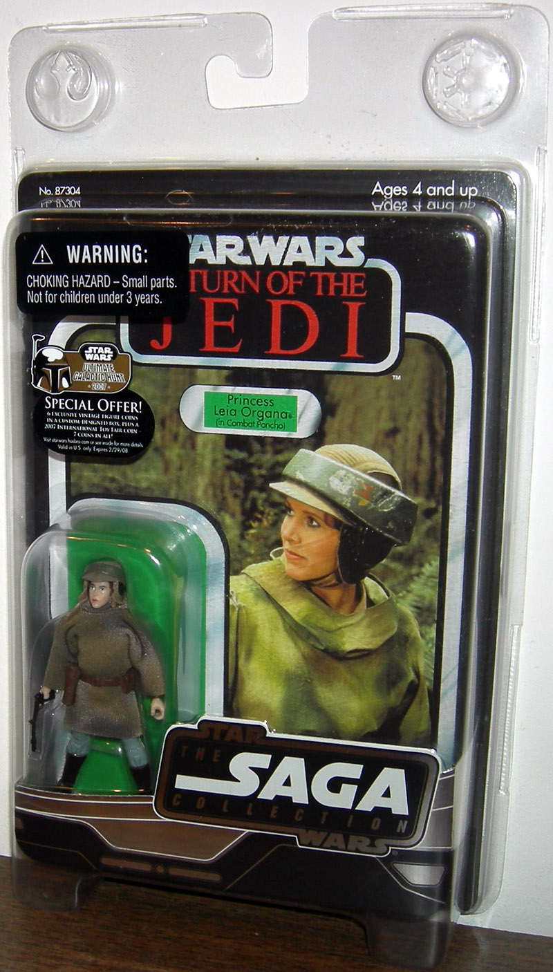 Princess Leia Organa in Battle Poncho (Vintage Original Trilogy Collection)