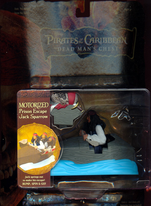 Motorized Prison Escape Jack Sparrow