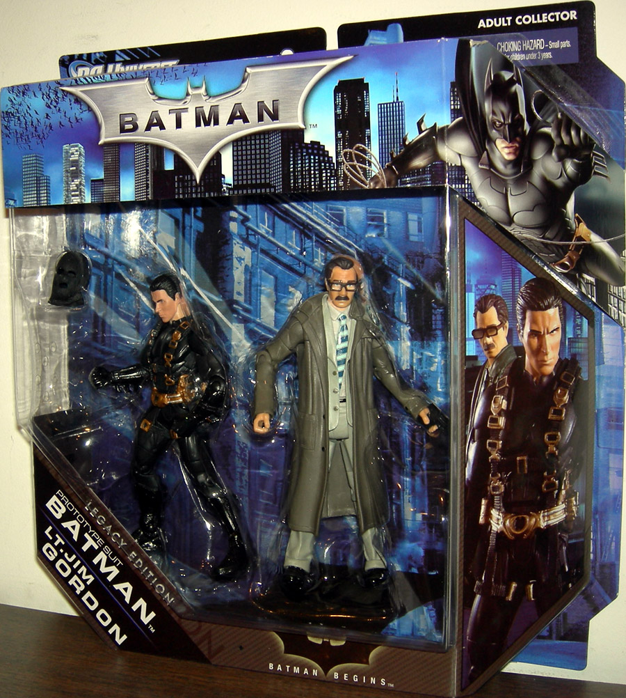 Prototype Suit Batman and Lt Jim Gordon, DC Universe