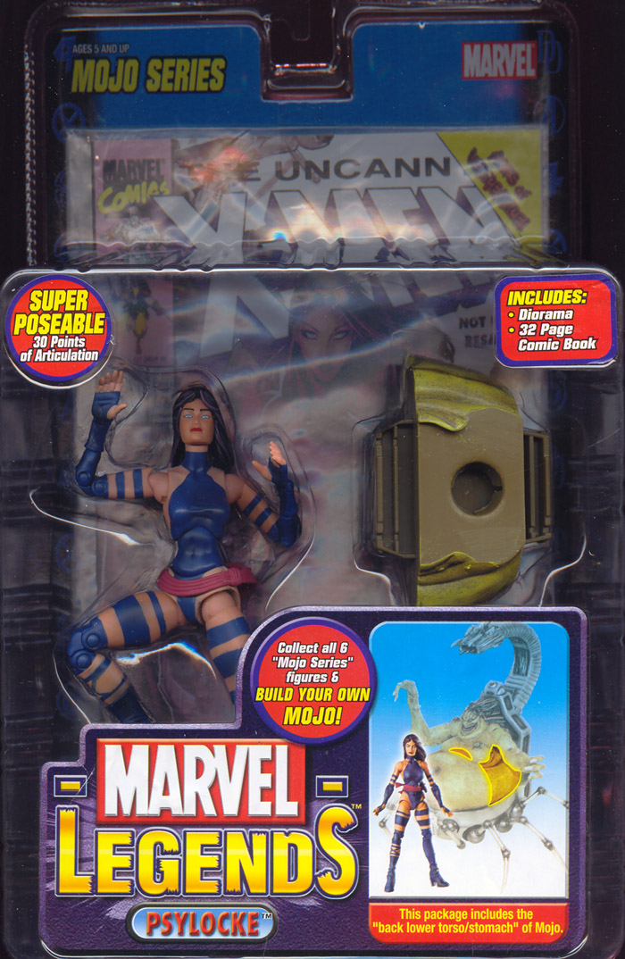 Psylocke (Marvel Legends)