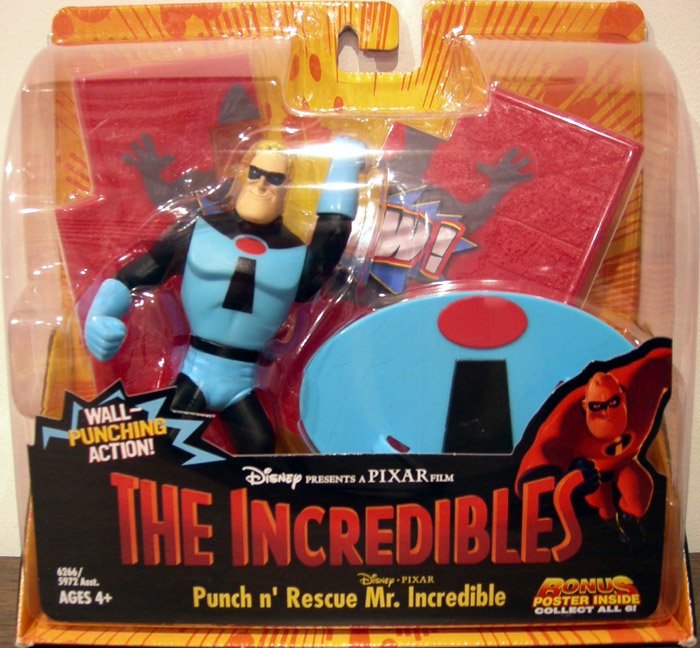 Punch 'n Rescue Mr. Incredible