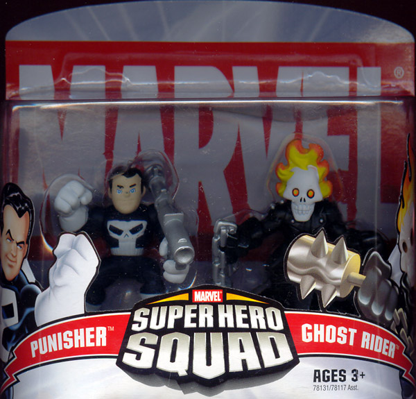 Punisher & Ghost Rider (Super Hero Squad)